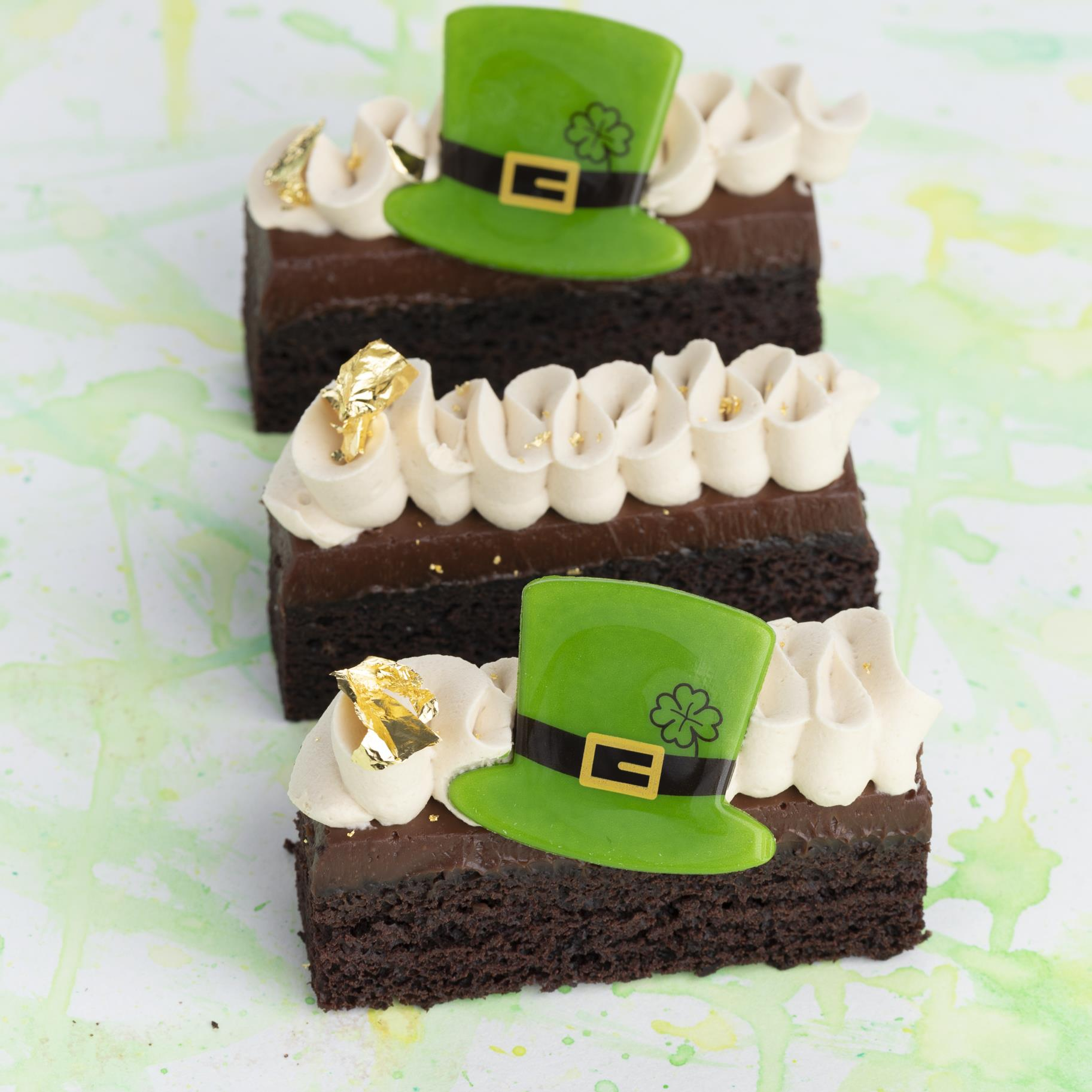 Irish Chocolate Cake Bars