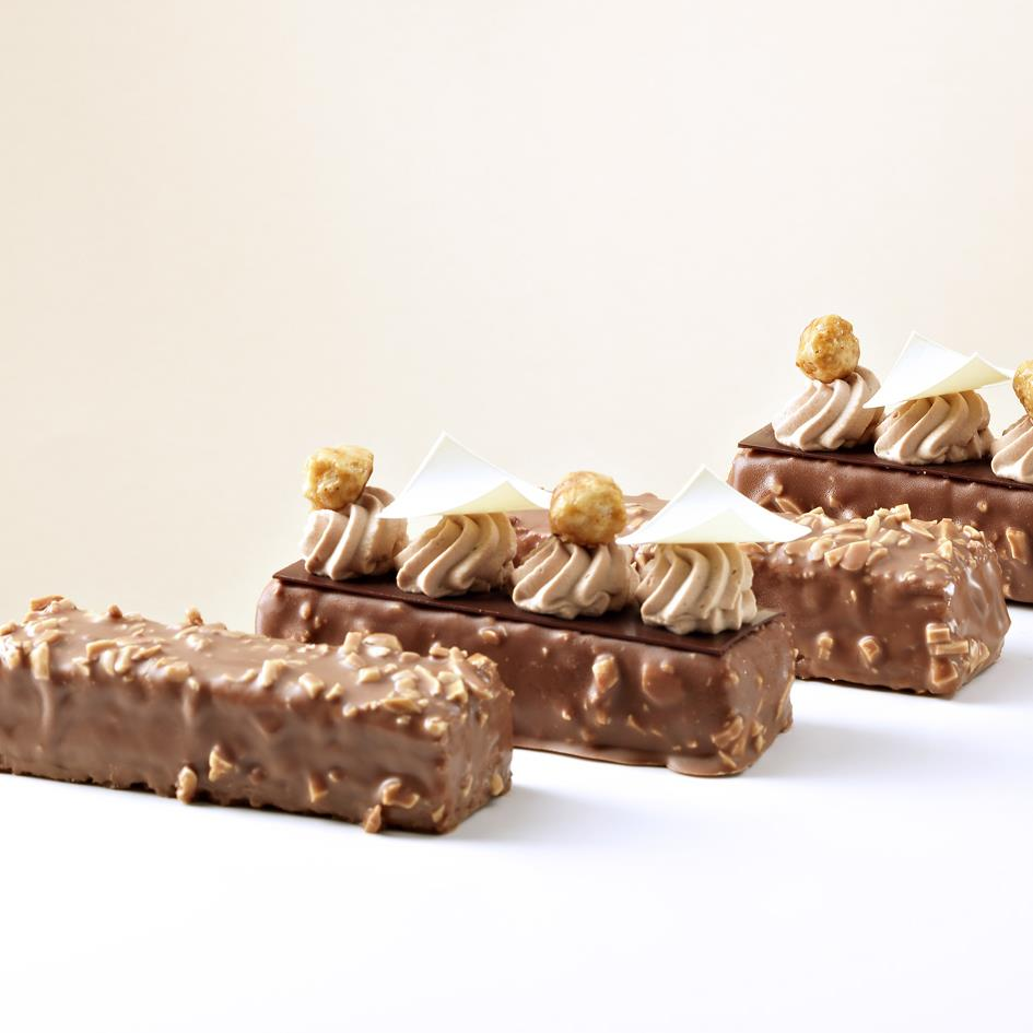 HAZELNUT CRUNCHY CARAMEL CHOCOLATE BAR