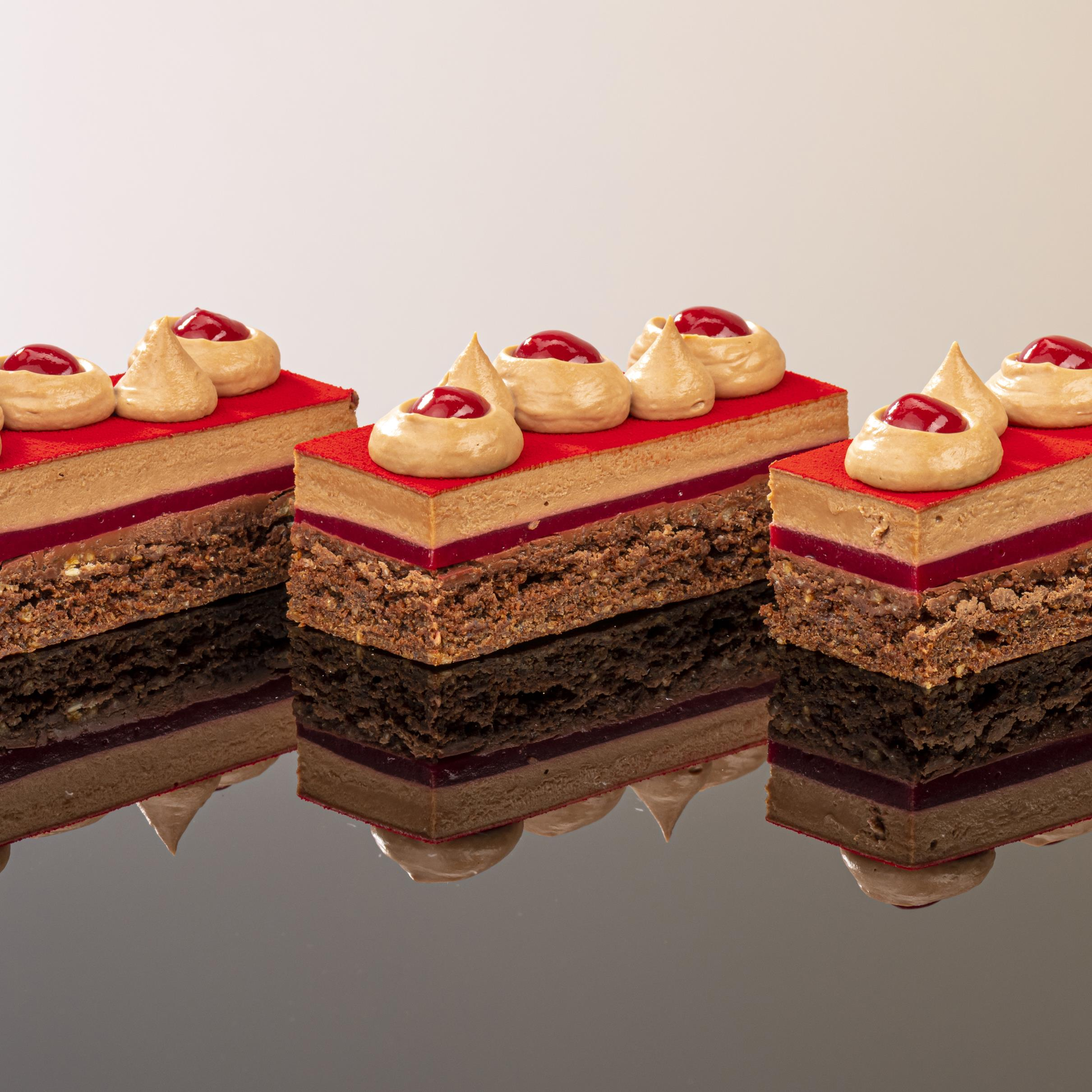 SUGAR & GLUTEN FREE CHOCOLATE RASPBERRY PETIT GATEAUX
